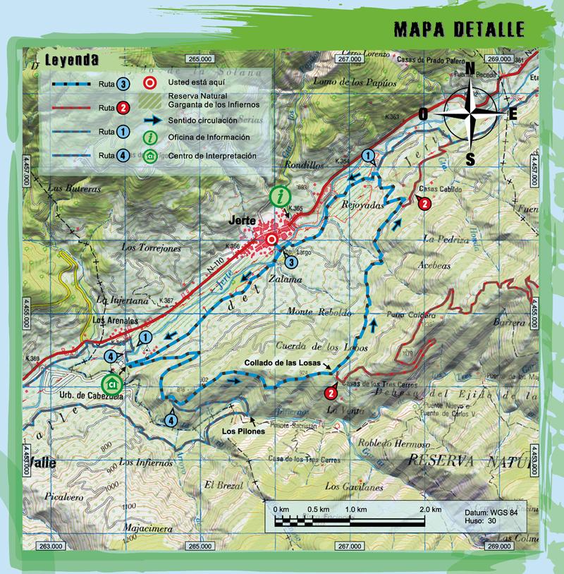 Ruta 3 btt monte reboldo centro btt valle del jerte for Oficina de turismo valle del jerte