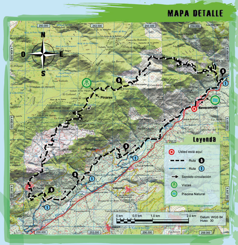 Ruta btt montes traslasierra for Oficina de turismo valle del jerte