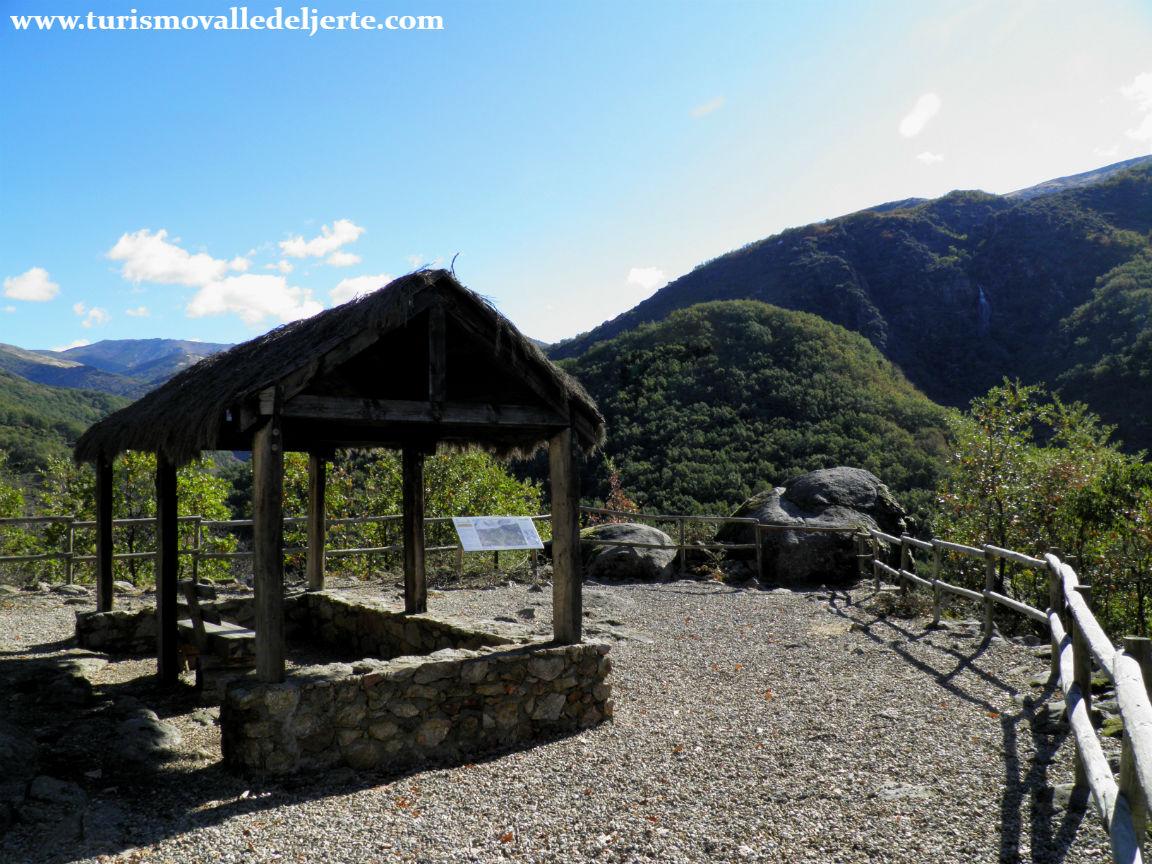 Mirador del chorrero de la virgen valle del jerte for Oficina de turismo valle del jerte