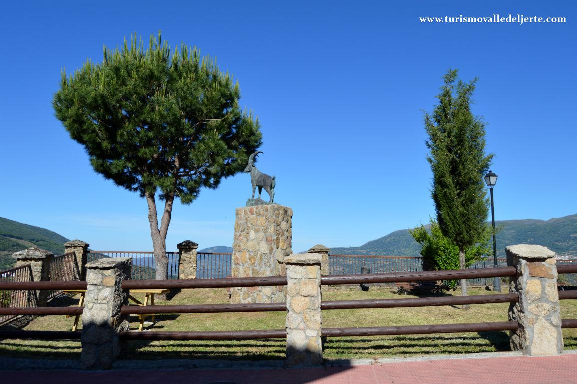 Mirador de la cabra valle del jerte for Oficina de turismo valle del jerte