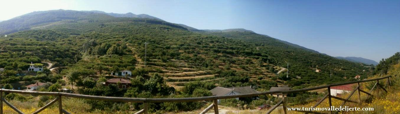 Mirador el cerrillo valle del jerte for Oficina de turismo valle del jerte