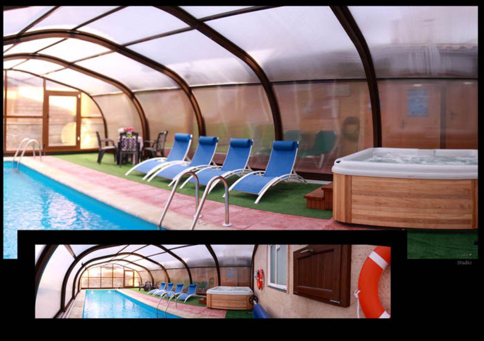 Casas aptos rurales carroyosa alojamientos en el valle del jerte - Casas rurales en el jerte con piscina ...