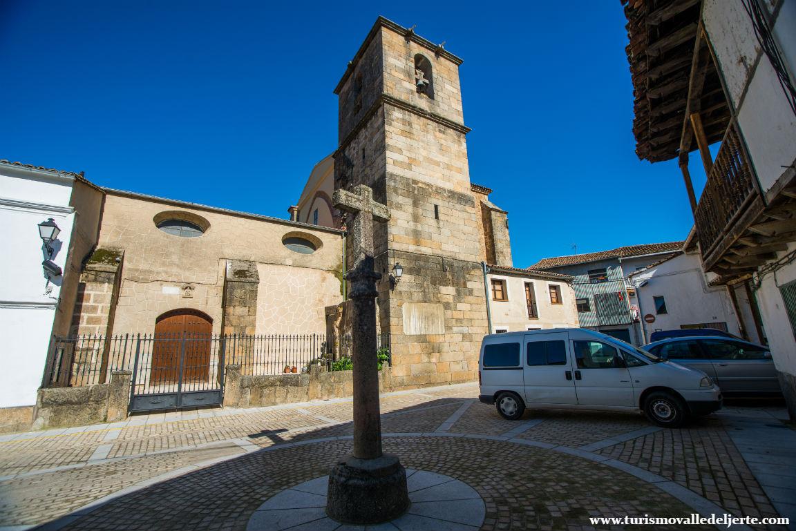 Iglesia de Ntra. Sra. de la Asunción. Navaconcejo. Valle del Jerte